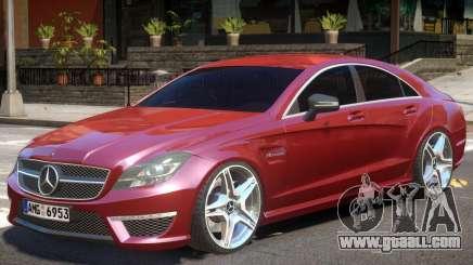 Mercedes CLS 63 AMG V1 for GTA 4