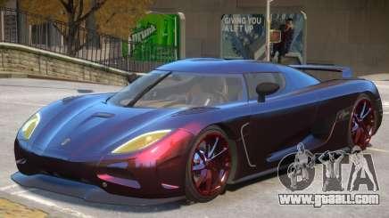 Koenigsegg Agera V1 for GTA 4