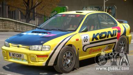 Subaru Impreza Rally Edition V1 PJ1 for GTA 4