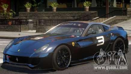 Ferrari 599XX V1 PJ for GTA 4