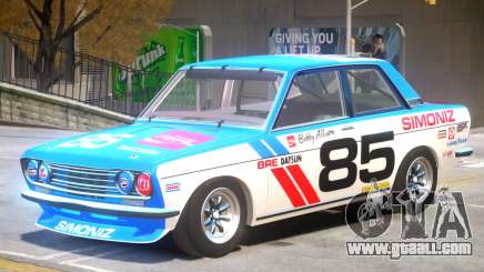 1971 Datsun Bluebird V1 PJ2 for GTA 4