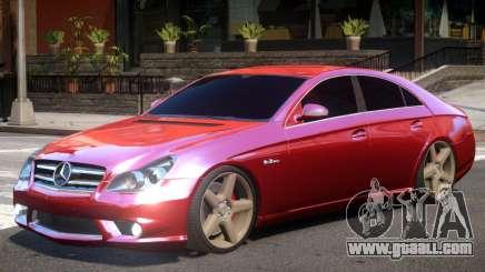 Mercedes Benz CLS AMG V2 for GTA 4