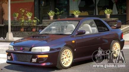 1998 Subaru Impreza V1.0 for GTA 4