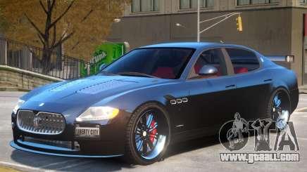 Maserati Quattroporte V2 for GTA 4