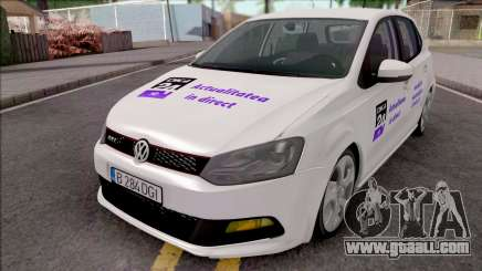 Volkswagen Polo GTI 2014 Digi24 HD for GTA San Andreas