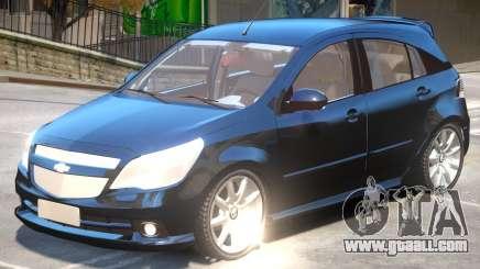 Chevrolet Agile V1 for GTA 4