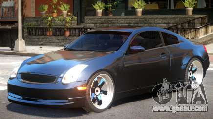 Infiniti G35 Tune for GTA 4