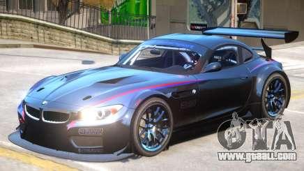 BMW Z4 GT3 V1 PJ2 for GTA 4