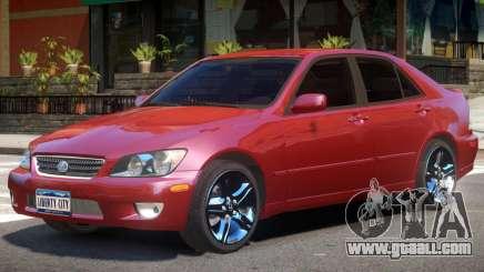 Lexus IS300 R2 for GTA 4