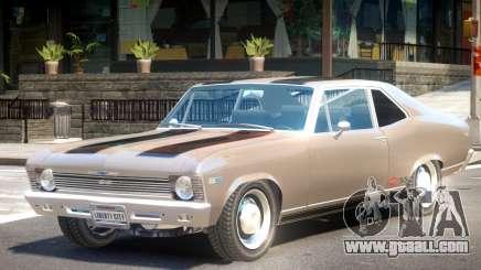 1969 Chevrolet Nova V1 PJ1 for GTA 4