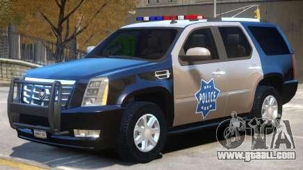 Escalade Police for GTA 4