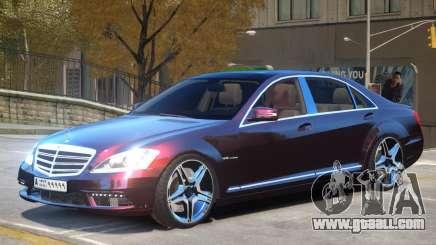 Mercedes S65 AMG V1.0 for GTA 4