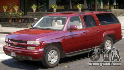 Chevrolet Suburban V1.1 for GTA 4