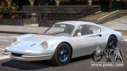 1969 Ferrari Dino for GTA 4