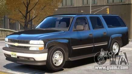 Chevrolet Suburban V1.0 for GTA 4