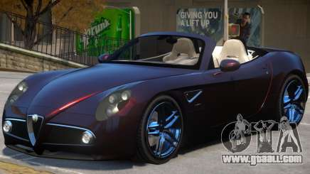 Alfa Romeo Spider for GTA 4