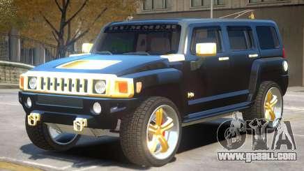 Hummer H3 V1.2 for GTA 4