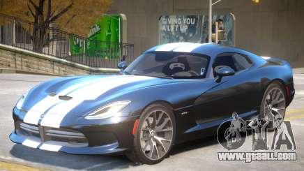 Dodge Viper GTS V2.4 for GTA 4