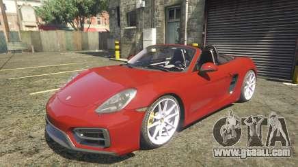 2016 Porsche Boxster GTS 1.0 for GTA 5