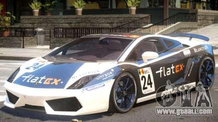 Lamborghini Gallardo SE PJ2 for GTA 4