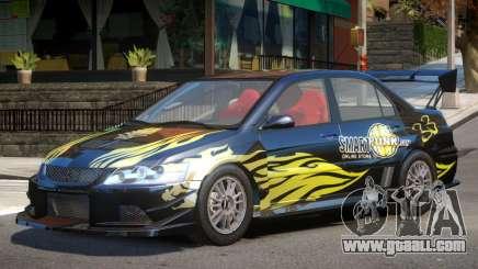 Mitsubishi Evo IX V1 PJ1 for GTA 4