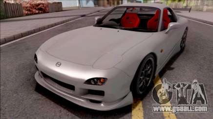 Mazda RX-7 Drift Grey for GTA San Andreas