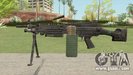 M249 SAW V2 for GTA San Andreas