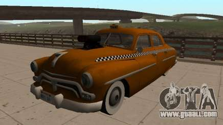 1950 Mercury Monterey Sedan TAXI for GTA San Andreas