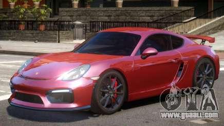 Porsche Cayman GT4 V2 for GTA 4