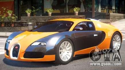 Bugatti Veyron Up for GTA 4