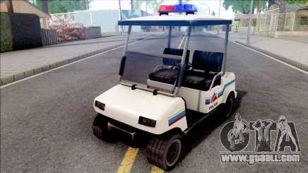 Nagasaki Caddy 1992 Hometown Police for GTA San Andreas