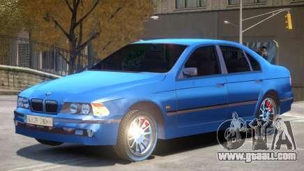 BMW E39 525i V1 for GTA 4