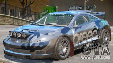 Mitsubishi Eclipse Rally PJ4 for GTA 4
