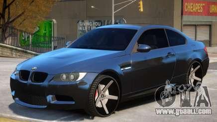 BMW M3 E92 M7 for GTA 4