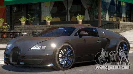 Bugatti Veyron Sport for GTA 4
