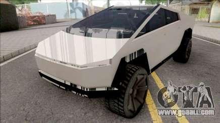Tesla Cybertruck 2019 for GTA San Andreas