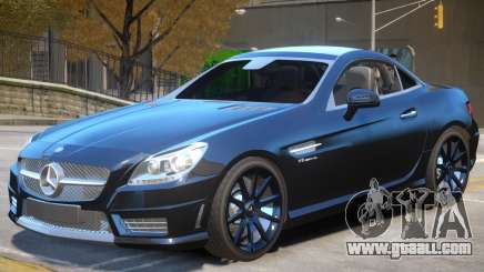 Mercedes Benz SLK55 V1 for GTA 4