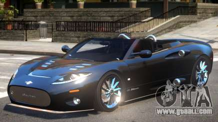 Spyker C8 V1.1 for GTA 4
