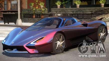 SSC Tuatara V2 for GTA 4