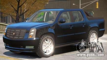 Cadillac Escalade Pickup for GTA 4