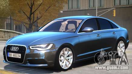 Audi A6 V1.2 for GTA 4
