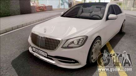 Mercedes-Maybach S650 White for GTA San Andreas