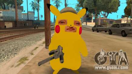 Michael Circle in the form of a Pikachu for GTA San Andreas