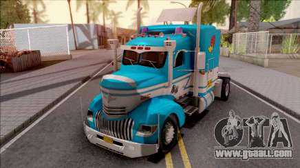 Chevrolet COE Blue for GTA San Andreas