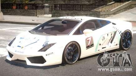 Lamborghini Gallardo SE PJ1 for GTA 4