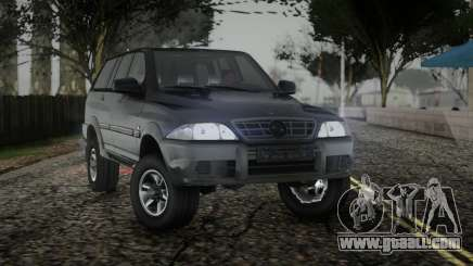 SsangYong Musso TD 2.9 for GTA San Andreas