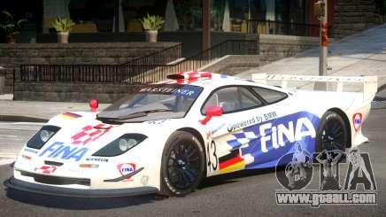 McLaren F1 V1.1 PJ2 for GTA 4