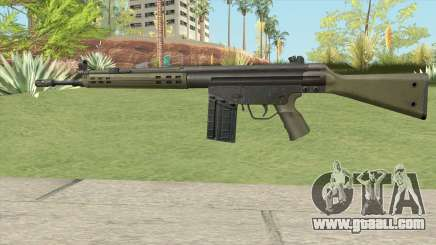 G3 Assault Rifle for GTA San Andreas