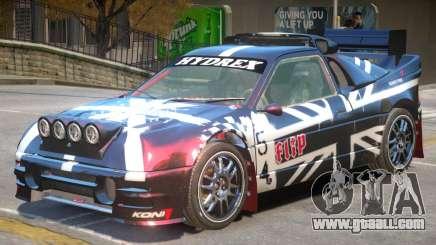 Ford RS200 Drift V1 PJ2 for GTA 4