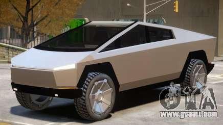 Tesla Cybertruck V1 for GTA 4